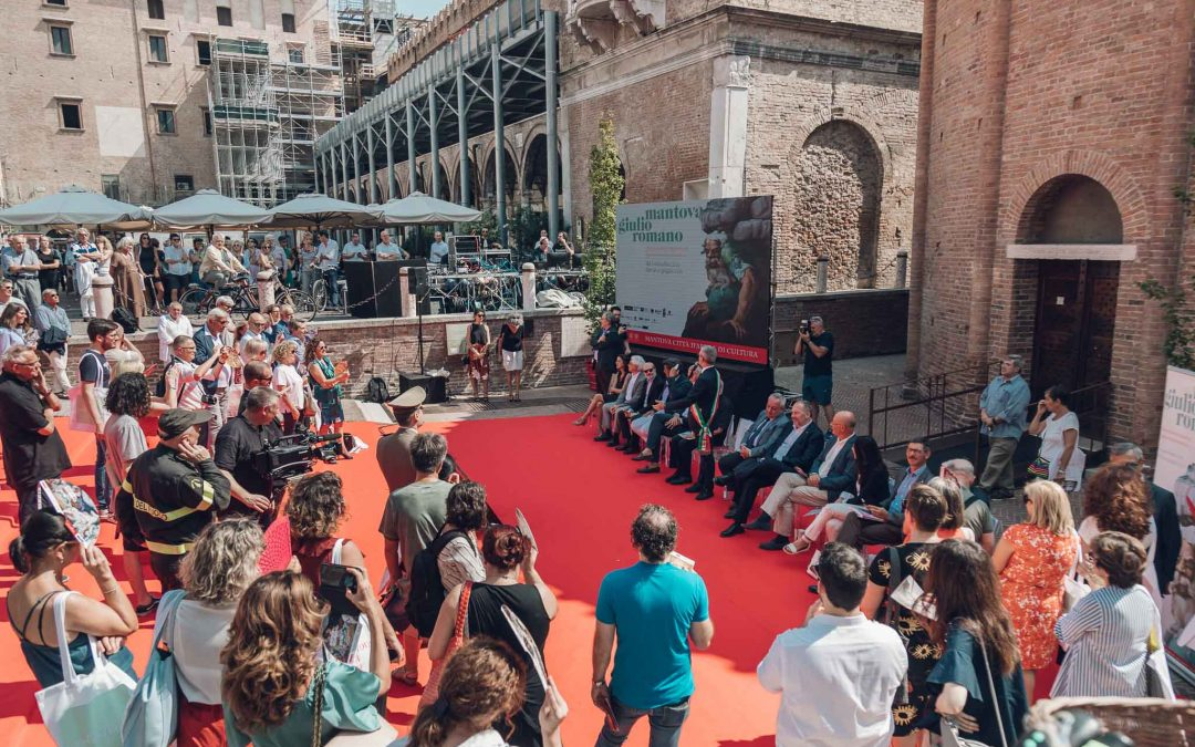 Presentazione della Mostra di Giulio Romano a Mantova