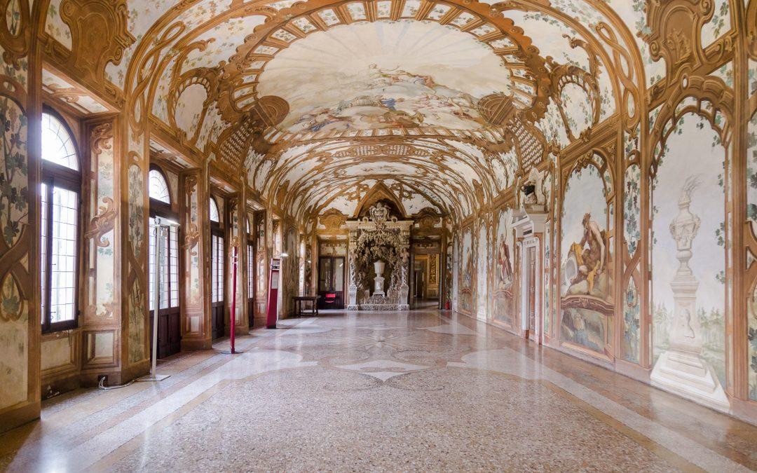 galleria dei fiumi palazzo ducale